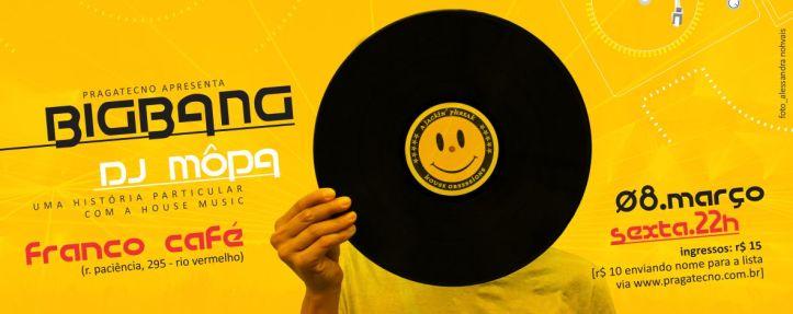 BigBang, a festa que homenageia a história da House Music.