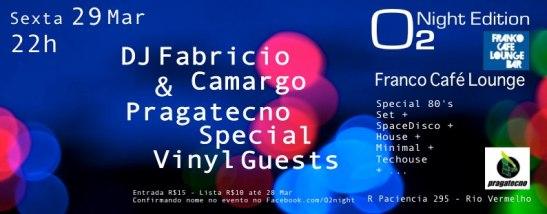 O2 Night em Salvador, com dj Fabrício Camargo