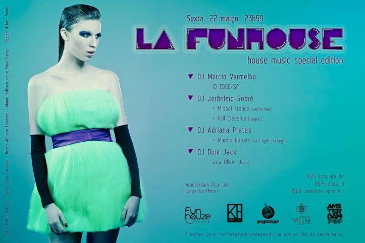 Festa da La Funhouse em Salvador