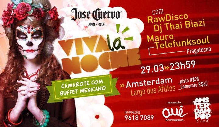 Viva La Noche, com o Dj Mauro Telefunksoul (Salvador)